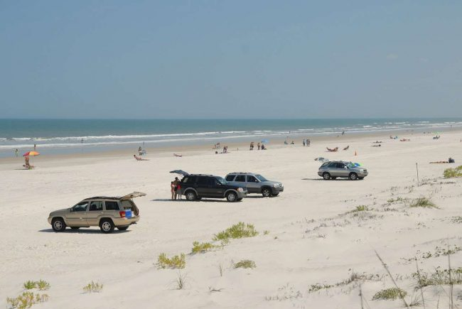 Beach In New Smyrna