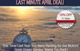 Great Ocean Condos - Last Minute Deals